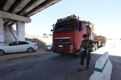 الباحث أيمن الدسوقي في حديثه عن تجارة المعابر الحدودية لوكالة AFP