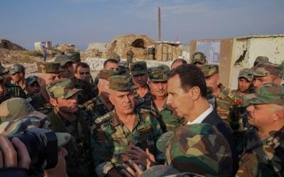 سلسلة القيادة والأوامر في الجيش والقوات المسلحة