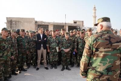 مراكز القوة في جيش النظام 2020: